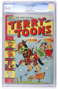 Golden Age (1938-1955):Funny Animal, Terry-Toons Comics #1 (Timely, 1942) CGC VG 4.0 Cream to off-whitepages....