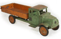 Antiques:Toys, Steelcraft Mack Jr. Hauler Truck....