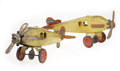 Antiques:Toys, Pair of Keystone Air Mail Plane Fuselages Perfect for Restoration.... (Total: 2 Items)