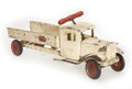 Antiques:Toys, Keystone Sit-N-Ride Wrecking Car....