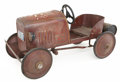 Antiques:Toys, Steelcraft Ford Fire Truck Pedal Car....