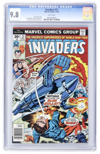 The Invaders #11 (Marvel, 1976) CGC NM/MT 9.8 White pages