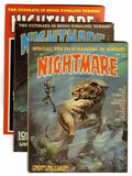 Magazines:Horror, Nightmare Group (Skywald, 1971-74) Condition: Average VF.... (Total: 14 Comic Books)