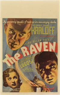 "The Raven (Universal, 1935). Window Card (14"" X 22"")"