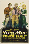 "Movie Posters:Western, Prairie Trails (William Fox, 1920). One Sheet (27"" X 41"").. ..."