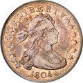 Early Quarters, 1804 25C VF35 PCGS....