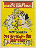 "Movie Posters:Animated, 101 Dalmatians (Buena Vista, 1961). Poster (30"" X 40"").. ..."