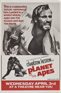 "Movie Posters:Science Fiction, Planet of the Apes (20th Century Fox, 1968). One Sheets (3) (27"" X41"") Advance.. ... (Total: 3 Items)"