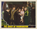 """Movie Posters:Horror, The Ghost of Frankenstein (Universal, 1942). Lobby Cards (2) (11"""" X 14"""").. ... (Total: 2 Items)"""