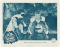 "Movie Posters:Serial, The Batman (Columbia, 1943). Lobby Card (11"" X 14"") Chapter 9 -- ""The Sign of the Sphinx."". ..."