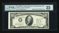 Error Notes:Obstruction Errors, Fr. 2011-J $10 1950A Federal Reserve Note. PMG Very Fine 25.. ...