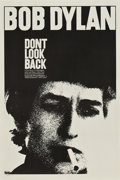 "Movie Posters:Documentary, Don't Look Back (Leacock-Pennebaker, 1967). One Sheet (27"" X 41"").. ..."