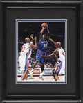 Basketball Collectibles:Others, Michael Jordan Signed Framed Photograph. ...