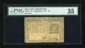 Colonial Notes:New York, New York September 2, 1775 $2 PMG Choice Very Fine 35....