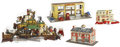 Antiques:Toys, Keystone Garage, Fire Department and Shooting Frontier Set....