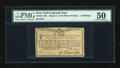 Colonial Notes:New York, New York March 5 , 1776 (Water Works) 4s PMG About Uncirculated50....