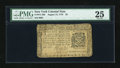 Colonial Notes:New York, New York August 13, 1776 $2 PMG Very Fine 25....