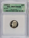 Proof Roosevelt Dimes: , 1996-S 10C Silver PR70 Deep Cameo ICG. PCGS Population (55/0).Numismedia Wsl. Price for NGC/PCGS coin ...