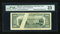 Fr. 2072-B $20 1977 Federal Reserve Note. PMG Very Fine 25