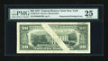 Error Notes:Blank Reverse (<100%), Fr. 2072-B $20 1977 Federal Reserve Note. PMG Very Fine 25.. ...