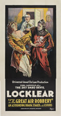 "Movie Posters:Adventure, The Great Air Robbery (Universal, 1919). Three Sheet (41"" X 81"")....."