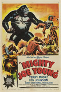 "Movie Posters:Adventure, Mighty Joe Young (RKO, 1949). One Sheet (27"" X 41"") Style A.. ..."