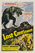 """Movie Posters:Science Fiction, Lost Continent (Lippert, 1951). One Sheet (27"""" X 41"""").. ..."""