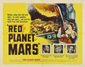 """Movie Posters:Science Fiction, Red Planet Mars (United Artists, 1952). Half Sheet (22"""" X 28"""").. ..."""