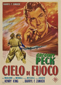 "Movie Posters:War, Twelve O'Clock High (20th Century Fox, 1949). Italian 2 - Folio (39"" X 55"").. ..."