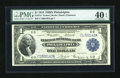 Fr. 714 $1 1918 Federal Reserve Bank Note PMG Extremely Fine 40 EPQ