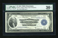 Fr. 715 $1 1918 Federal Reserve Bank Note PMG Very Fine 30 EPQ