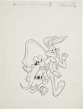 Original Comic Art:Covers, Yosemite Sam and Bugs Bunny #2 Cover Original Art (Gold Key,1970). . ...