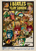 "Movie Posters:Animated, Yellow Submarine (United Artists, 1968). Italian 4 - Folio (55"" X 78"").. ..."