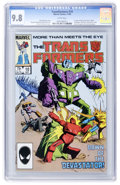Modern Age (1980-Present):Science Fiction, Transformers #10 (Marvel, 1985) CGC NM/MT 9.8 White pages....
