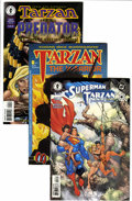 Bronze Age (1970-1979):Adventure, Tarzan Related Modern Age Titles Group (Dark Horse, Malibu, and Others, 1990s) Condition: Average NM-.... (Total: 69 Comic Books)