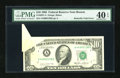Error Notes:Foldovers, Fr. 2027-A $10 1985 Federal Reserve Note. PMG Extremely Fine 40 EPQ.. ...