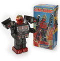 Antiques:Toys, Horikawa Battery Operated Dino-Robot in the Original Box....