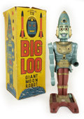 Antiques:Toys, Marx Rare Big Loo Giant Moon Robot in the Original Box....
