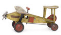 Antiques:Toys, Keystone Sit-N-Ride Air Mail Airplane Toy....