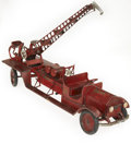Antiques:Toys, Sturditoy American La France Water Tower No. 9 Fire Truck....