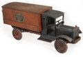Antiques:Toys, Keystone Long Distance Moving Van....