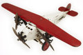 Antiques:Toys, Steelcraft Tri-Motor U.S. Mail Plane NX 131....