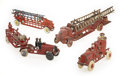 Antiques:Toys, Lot of Four Arcade Cast Iron Fire Trucks.... (Total: 4 Items)