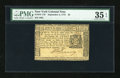 Colonial Notes:New York, New York September 2, 1775 $3 PMG Choice Very Fine 35 EPQ....