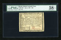Colonial Notes:Rhode Island, Rhode Island July 2, 1780 $20 PMG Choice About Unc 58 EPQ....