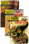 Golden Age (1938-1955):Classics Illustrated, Classics Illustrated Group (Gilberton, 1950s-60s) Condition: Average VG.... (Total: 53 Comic Books)