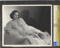 "Teresa Wright in ""The Pride of the Yankees"" by George Hurrell (RKO, 1942). Still (8"" X 10"")"