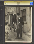 "Movie Posters:Comedy, Charlie Chaplin in ""Modern Times"" (United Artists, 1936). Still (8""X 10"").. ..."