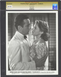 "Movie Posters:Drama, Humphrey Bogart and Ingrid Bergman in ""Casablanca"" (WarnerBrothers, 1942). Still (8"" X 10"").. ..."
