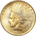 Indian Eagles, 1930-S $10 MS66 PCGS....